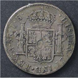 Mexico Pillar Dollars 1806 Fine, 1807 VF,