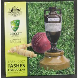 1882-2007 Ashes $5 proof
