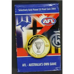 AFL $5 proof Coin 2004