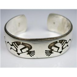 Ladies Native American Sterling Silver Bracelet