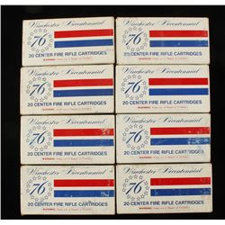 (8) Boxes Winchester Bicentennial Ammo