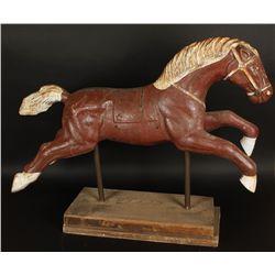 Iron Carousel Horse