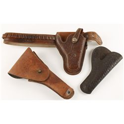 Collection of (3) Holsters