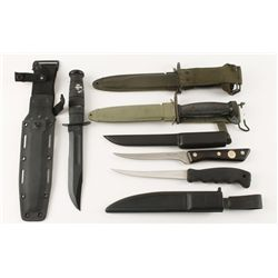 Lot of (5) Edged Weapons
