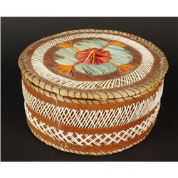 Indian Quill Basket