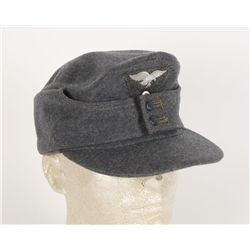 German WWII Luftwaffe Enlisted Mans M-43 Cap