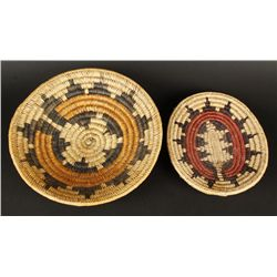 (2) Navajo Wedding Baskets