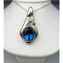 Fabulous 10 Carat London Blue Topaz