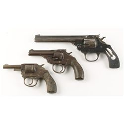 Lot of (3) Double Action Revolvers