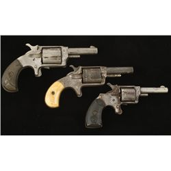 Lot of Three Spur Trigger Revolvers