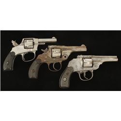 Lot of Three double action Revolvers
