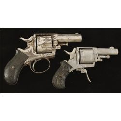Lot of Two Double Action Revolvers