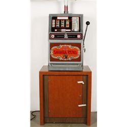 Vintage Sahara Reno 25 Cent Slot Machine