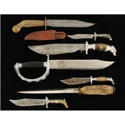 Collection of Spanish and Mexican Knives