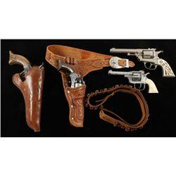 Lot of (4) Vintage Cap Guns