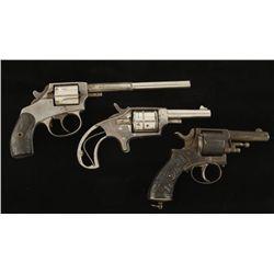Lot of Three Various Revolvers