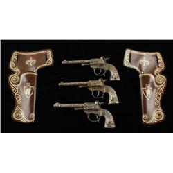 Lot of (3) Vintage Cap Guns