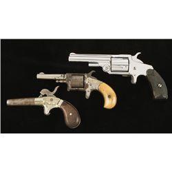 Lot of Three non-functioning pistols