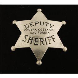Old West Deputy Sheriff Law Badge