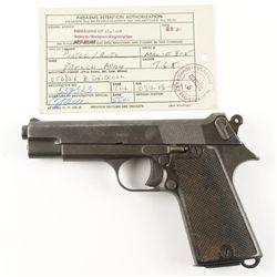 M.A.C. Mdl 1935S Cal 7.65mm SN: E805