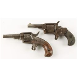 Lot of Two Spur Trigger Revolvers