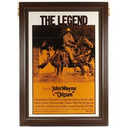 "Original John Wayne Movie Poster ""Chisum"""
