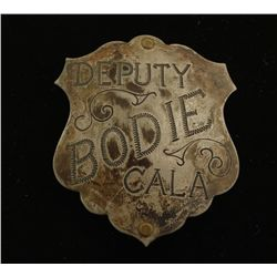 Old West Bodie California Deputy Badge