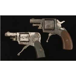 Lot of Two Folding Trigger Revolvers