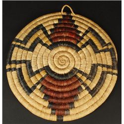Hopi Coil Basket Plaque