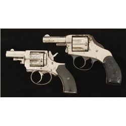 Lot of Two Double Action Centerfire Revolvers