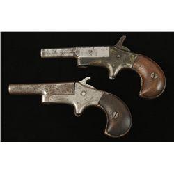 Lot of Two Rimfire Derringers Single Shot