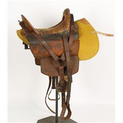 Civil War Model 1859 Officers Saddle