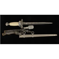 German WWII Luftwaffe 2nd Model Officers Dagger