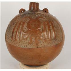 Pre-Columbian Moche Canteen