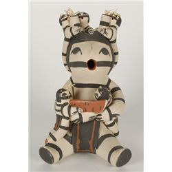 Acoma Storyteller Clay Figure