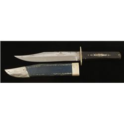 Clip Point Bowie Knife