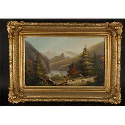 Oil on Board by H.J. Gisey