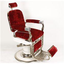 Antique Theo A. Kochs Barber Chair