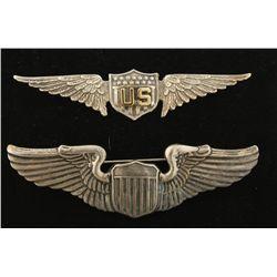 US WWI Army Aviator Pilot Wing