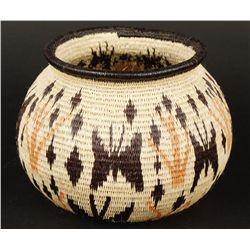 Wounan Indian Hand Made Basket from Panama