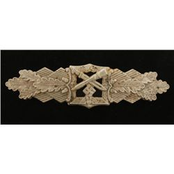 German WWII Army Silver Close Combat Clasp