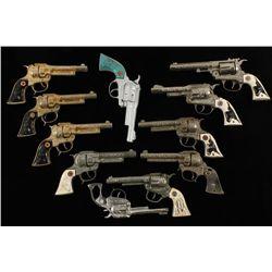 Lot of (11) Antique Cap Guns