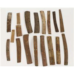 Pre-Historic Rib Bone Breast Plate Pieces