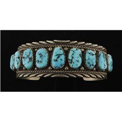 Ladies Turquoise Cuff Bracelet