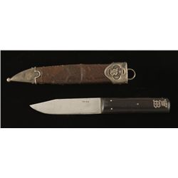 Small Silver Mounted Gentleman's Knife