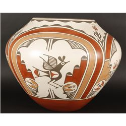 Large Zia Jar
