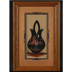 Lot of (3) Sand Paintings