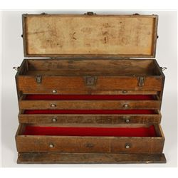 Solid Oak Carpenters Box