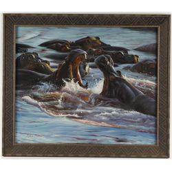 Oil on Canvas by John Trekker