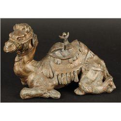 Vintage Camel Inkwell